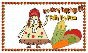 The many toppings of Patty the pizza
