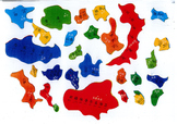 The map of China - Puzzle