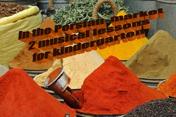 The market place- a musical lesson for kindergarten