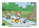 The mice go on a picnic