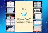 The mixed 'ɪə' (ear) Phonics Games Pack