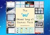 The mixed 'əʊ' (long o) Phonics Games Pack