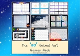 The mixed 'aʊ' (ou) Phonics Games Pack