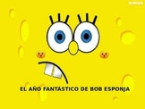 The months in Spanish with Spongebob  - Los meses del ano
