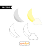 The moon clip art free download