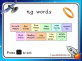 The 'ng' Phonics PowerPoint