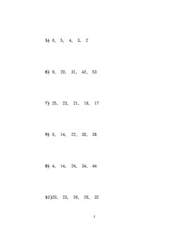 The nth term of an arithmetic sequence