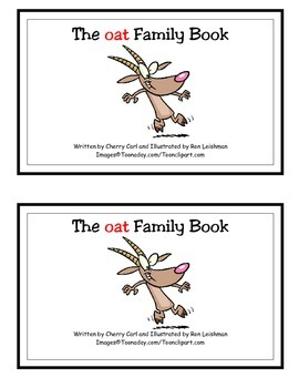 The oat Family Book Guided Reader