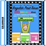 385 Regular Past Tense Task Cards