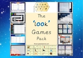 The 'oo' (as in look) Phonics Games Pack