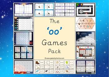 The 'oo' (long u) Phonics Games Pack