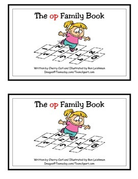 The op Family Book: Guided Reader (-op family)