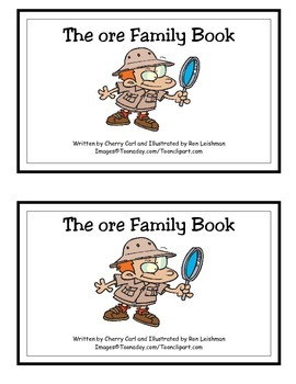 The ore Family Book: Guided Reader (-ore family)