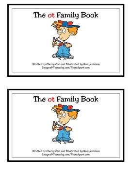The ot Family Book: Guided Reader (-ot family)
