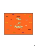 The - ot Family Vocabulary and Game