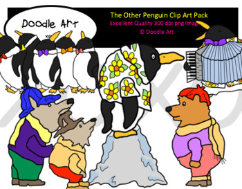 The other Penguin Clipart Pack