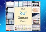 The 'ou' (as in cloud) Phonics Games Pack