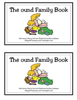 The ound Family Book: Guided Reader