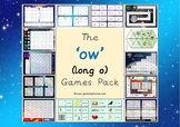 The 'ow' (long o) Phonics Games Pack