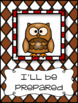 Classroom rules - The owl rules