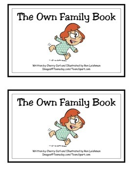 The own Family Book: Guided Reader