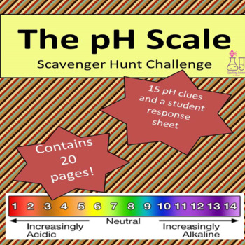 The pH Scale Scavenger Hunt