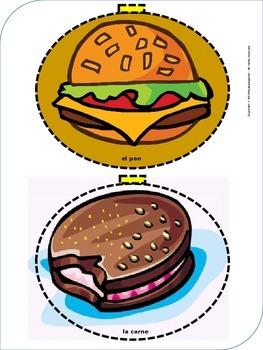 The paper Hamburger (Monolingual & Bilingual Burger - PDF