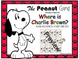 The peanut Gang Charlie Brown Snoopy Inspired Number Recog