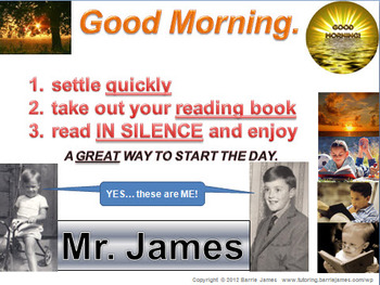 The perfect start to the day for any Substitute Teacher (PowerPoint)