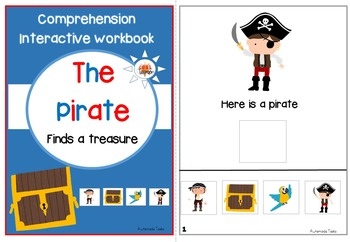 Pirate Fun - Interactive Comprehension Workbook