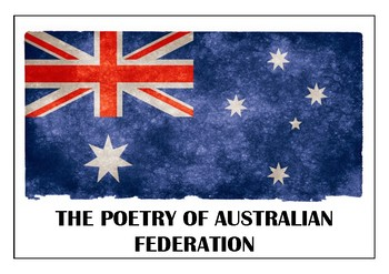 The poetry of Australian Federation