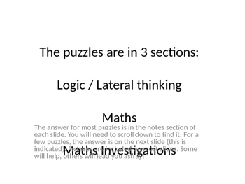 The puzzles