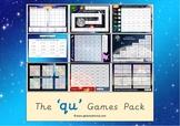 The 'qu' Phonics Games Pack