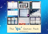 The 'qu' Phonics Games Pack
