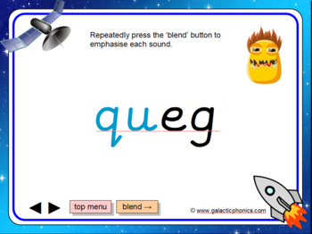 The 'qu' Phonics PowerPoint