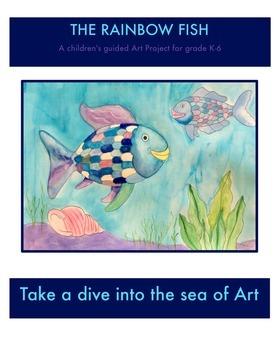 The rainbow fish art lesson