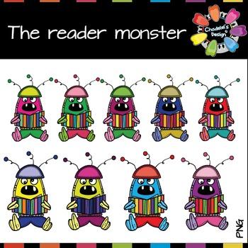 The reader monster