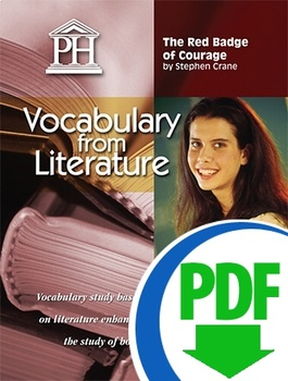 The red Badge of Courage Vocablualry from Literature