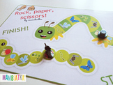The rock, paper, scissors game with insects!