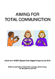 The role of BSL in 'Total Communication'
