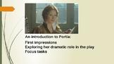The role of Portia in 'The Merchant of Venice'