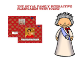 The royal family Flashcards