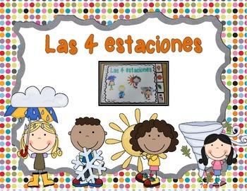 The 4 Seasons: A mini book (spanish version)