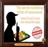The secret marketing tricks of restaurants – Business English - ESL adults