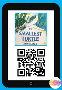 The smallest turtle QR code comprehension pack