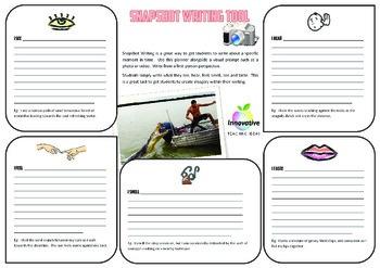 The Snapshot Writing Tool