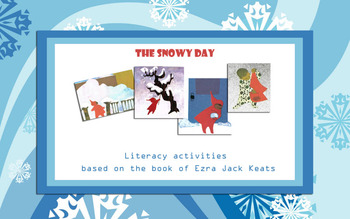 """The snowy day"" set of literacy and math activities"