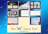 The 'ss' Phonics Games Pack
