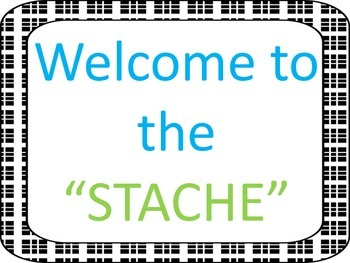 """The """"stache"""" poster"""