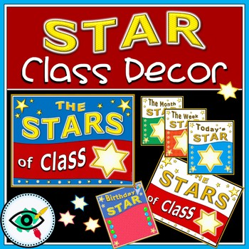 Class star posters decoration